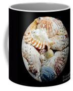 Seashells Baseball Square Coffee Mug