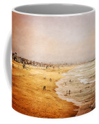Seashore At Manhattan Beach Coffee Mug