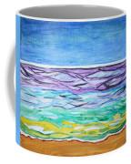 Seashore Blue Sky Coffee Mug