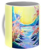 Seashore In The Moonlight Coffee Mug