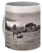 Seaside Horses Coffee Mug by Olivier Le Queinec