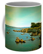 Seaside In The Distance Digital Coffee Mug
