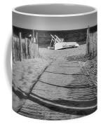 Seaside Park New Jersey Shore Bw Coffee Mug