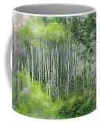 Seasons Of The Aspen Coffee Mug by Carol Cavalaris