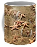Seastar Large Banner Coffee Mug by Betsy Knapp