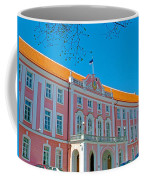 Seat Of Parliament In Old Town Tallinn-estonia Coffee Mug