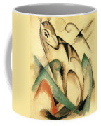 Seated Mythical Animal 1913 Coffee Mug