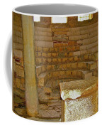 Seats For The Elders And Podium In Church Of Saint Nicholas In Myra-turkey Coffee Mug