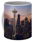 Seattle Cityscape Morning Light Coffee Mug