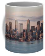 Seattle Dusk Skyline Coffee Mug