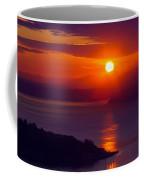 Seattle Fiery Sunset Coffee Mug