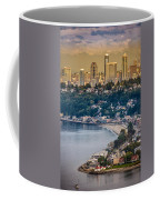 Seattle From The Air Coffee Mug