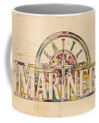 Seattle Mariners Poster Art Coffee Mug
