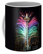 Seattle New Year Coffee Mug