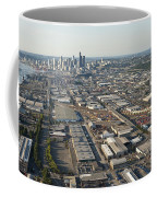 Seattle Skyline And South Industrial Area Coffee Mug