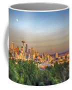 Seattle Skyline Lens Baby Hdr Coffee Mug