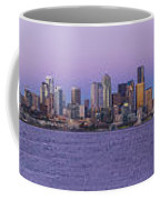 Seattle Skyline Panorama - Massive Coffee Mug