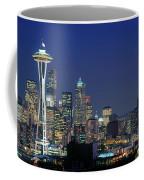 Seattle Skyline With Space Needle Coffee Mug