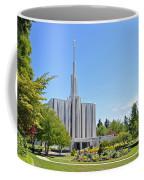 Seattle Temple - Horizontal Coffee Mug