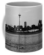 Seattle Waterfront Bw Coffee Mug