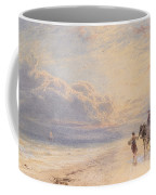 Seaweed Gatherers Coffee Mug by Myles Birket Foster