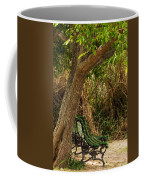 Secluded Park Benches Coffee Mug by Jess Kraft