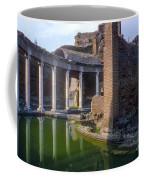 Second Century Villa Of Emperor Hadrian  Coffee Mug