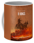 Second Kings Books Of The Bible Series Old Testament Minimal Poster Art Number 12 Coffee Mug