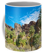 Second Largest Stand Of Fan Palms In The World In Andreas Canyon In Indian Canyons-ca Coffee Mug