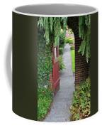 Secret Garden Door Coffee Mug