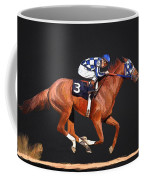 Secretariat And Turcotte Coffee Mug
