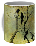 Secretive Crows Coffee Mug