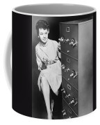 Secure Filing Cabinet Coffee Mug by Underwood Archives