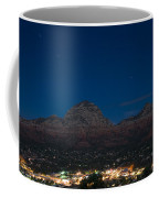 Sedona By Night Coffee Mug