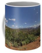 Sedona Panorama In 5 Pictures Coffee Mug