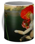 Seeking A Yellow Brick Road Poppy Number Three Horizontal Coffee Mug