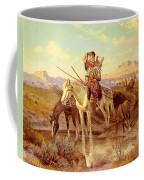 Seeking New Camping Ground Coffee Mug