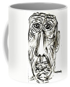 Self-portrait As An Old Man Coffee Mug