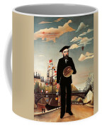Self Portrait Coffee Mug by Henri Rousseau