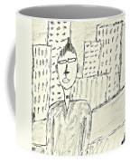 Self-portrait In Ny Coffee Mug