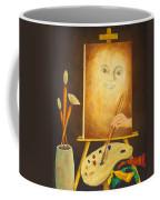 Self-portrait In Progress Coffee Mug