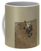 Self-portrait Of Curiosity Rover Coffee Mug