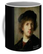 Self Portrait Coffee Mug by Rembrandt Harmenszoon van Rijn