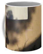 Self Portrait Shadow Wall Casa Grande Arizona 2004 Coffee Mug