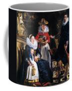 Self-portrait With Family Coffee Mug