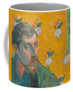 Self-portrait With Portrait Of Bernard. Les Miserables. Coffee Mug