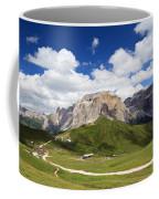 Sella Group. Italian Dolomites Coffee Mug