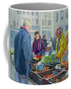 Selling Vegetables At The Market Coffee Mug