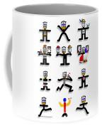 Semaphore Coffee Mug