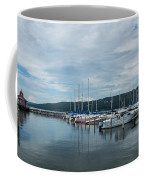 Seneca Lake Harbor - Watkins Glen - Wide Angle Coffee Mug